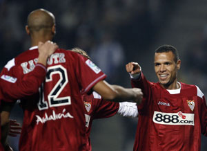 Sevilla FC: La sociedad Kanouté-Luis Fabiano, la más realizadora (32 goles) de la Liga