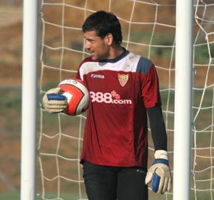 Sevilla FC: Palop está contento en Sevilla