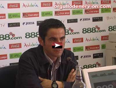 Sevilla FC: Clic aquí para ver la rueda de prensa de Jiménez