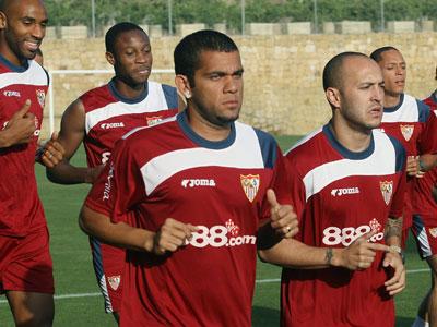 Sevilla FC: Los jugadores del Sevilla en la pasada pretemporada