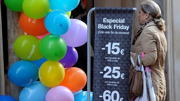 Celebración del «Black Friday» el año pasado en España