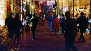 Recreación de lo que sería el futuro centro comercial