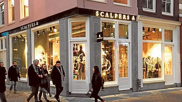 la nueva tienda de scalpers en amsterdam