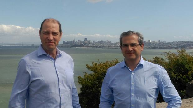 Ricardo Arjona y Pedro Carrillo, socios de EC2CE