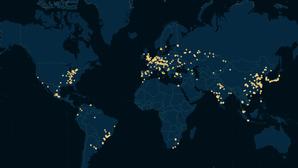 El mapa de los grandes fabricantes de automóviles en el mundo