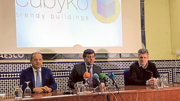 Joaquín Morales (financiero), Antonio Sánchez (CEO)y Antonio Luis Aguilar