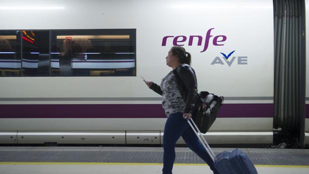 Estación de AVE en Barcelona