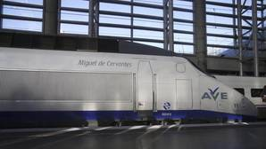 Tren AVE que hizo el primer trayecto Madrid-Sevilla