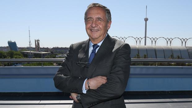 José Luis Manzanares, en la sede de Ayesa