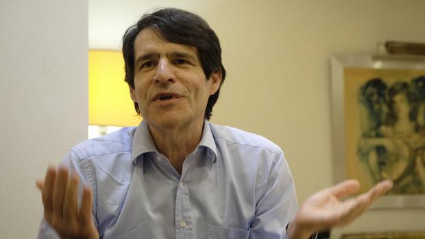 Albert Marcet durante la entrevista celebrada en Sevilla