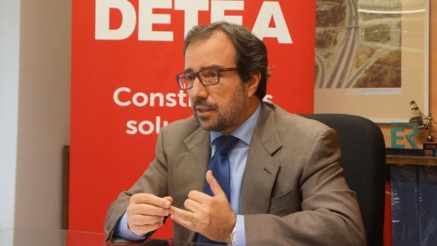 Arturo Coloma, presidente de Detea