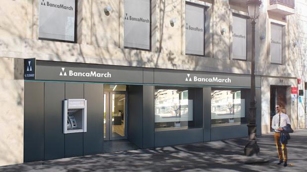 banca march abrir una oficina en la antigua tienda de