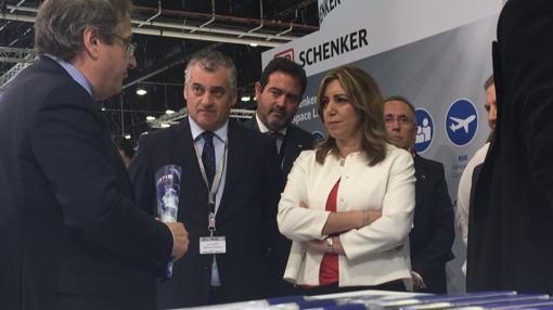 La presidenta de la Junta, Susana Díaz,