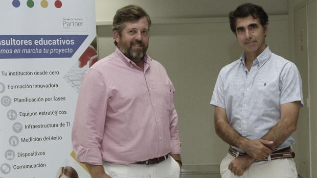 Pedro Díez y Jaime Conde, socios de Ieducando