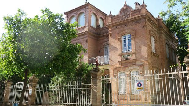 La sede de Albatros en la calle Cristo de la Sed