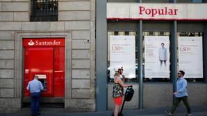 Oficinas de Santander y Popular