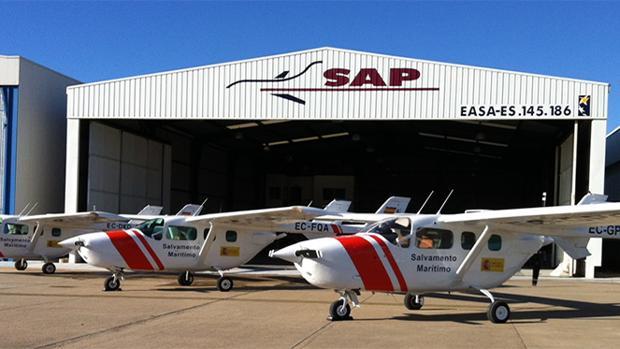 Avionetas de salvamento marítimo de la Sociedad Aeronaútica Peninsular