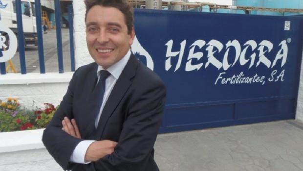 Jaime Abad Peralta: «Garantizamos al agricultor una oferta completa de fertilizantes desde Sevilla»