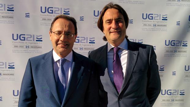Ozgur Unay (izquierda) y Manuel González Moles, cofundadores de UG21