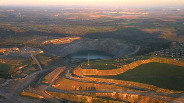 Aznalcóllar ocupa una superficie de 950 hectáreas y tiene 30 millones de toneladas de recursos por explotar