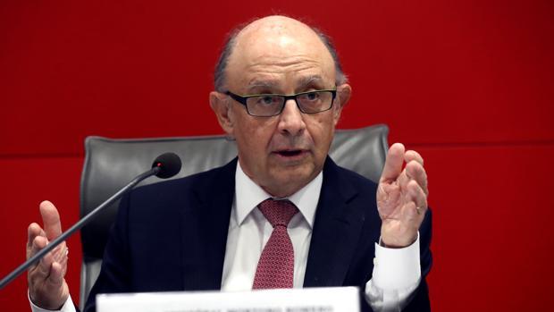 Cristóbal Montoro, en una reciente comparecencia pública.