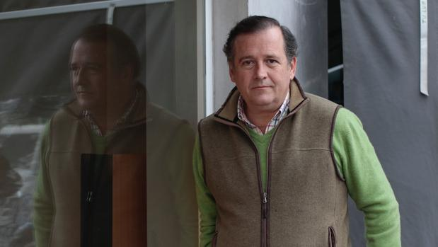 Borja Murube durante la entrevista