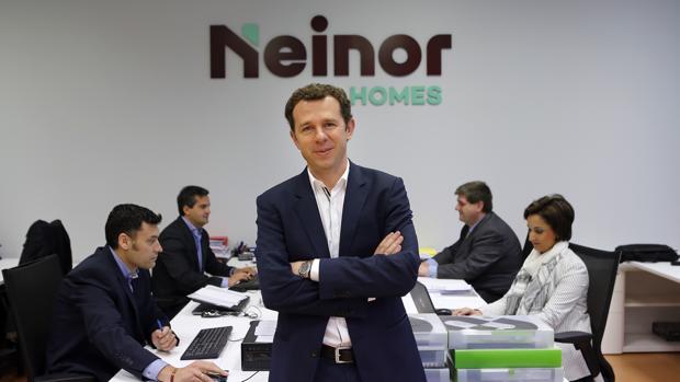 José Luis Velayos, en las oficinas de neinor Homes