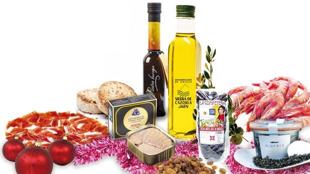 La cesta andaluza productos de la tierra por navidad for Productos de navidad