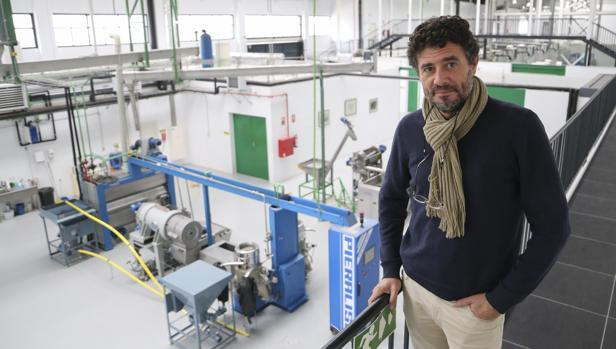 Fernando Martínez, Responsable de la Almazara Experimental del Instituto de la Grasa de Sevilla