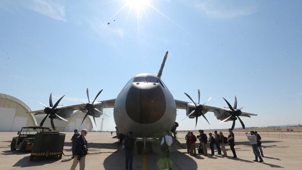 Imagen de la aeronave