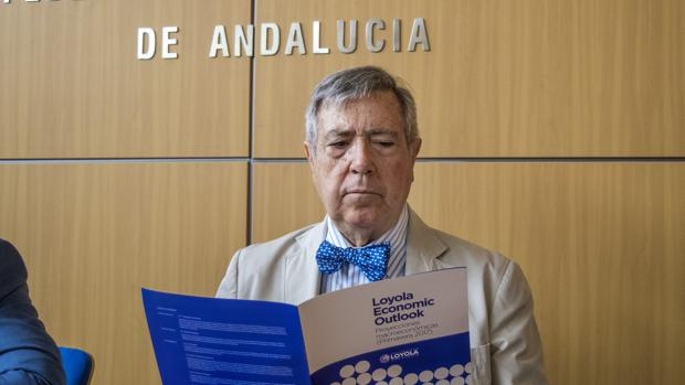 Manuel Ángel Martín, presidente del Consejo Empresarial de Economía de la CEA