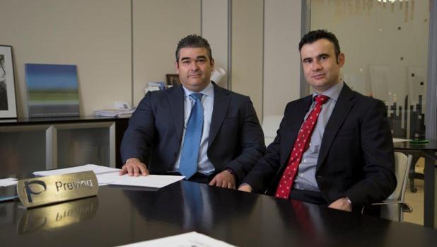 Andrés López y Jesús Nieto, consejeros delegados de Preving