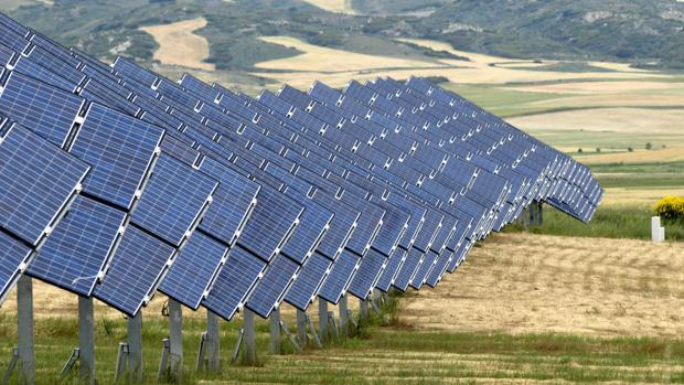 Imagen de una plata fotovoltaica