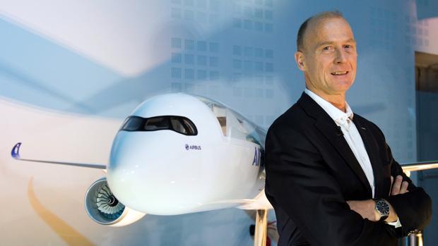 Tom Enders, CEO de Airbus
