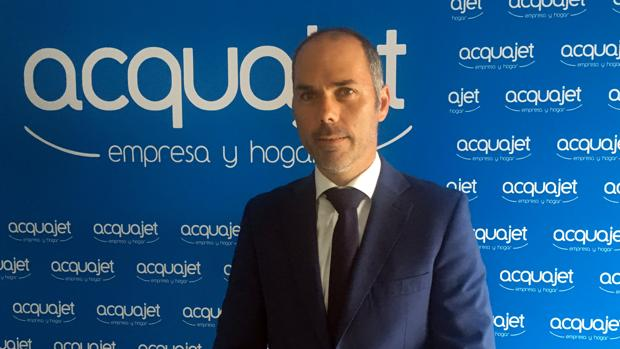 Iván Colomer, director general de Acquajet