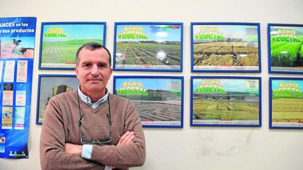 Ignacio Solís es director de Agrovegetal