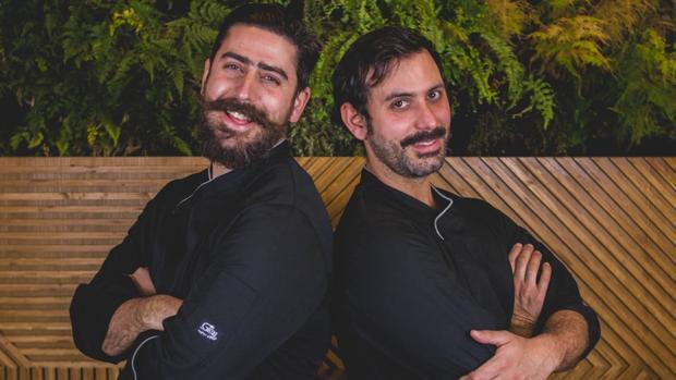 Los hermanos Juan y Víctor Fortuna