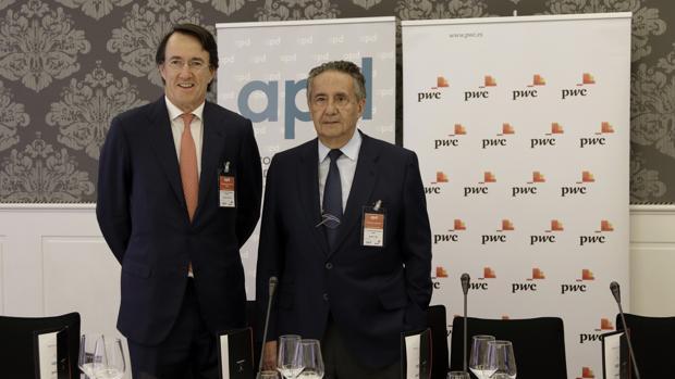 Mauricio González Gordon, presidente de APD en la Zona Sur, y José Luis Manzanares, presidente de Ayesa