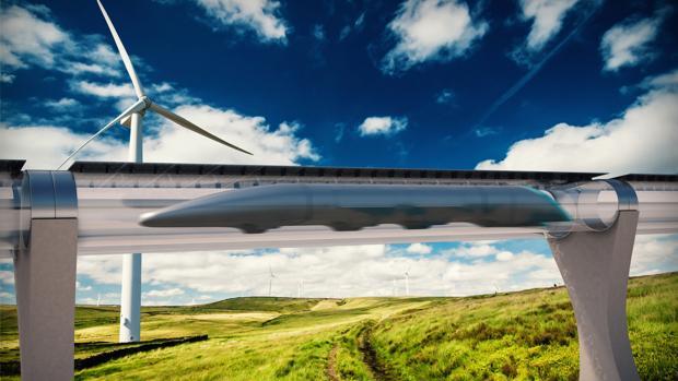 Con el sistema en pruebas hyperloop, las personas y mercancías se desplazarán a unos 1.200 kilómetros por hora