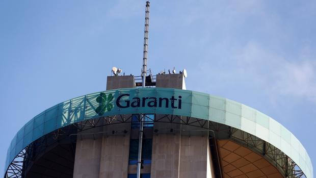 La sede de Garanti Bank en Estambul, Turquía
