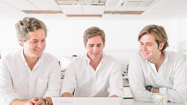 Gonzalo Lahera, Borja Osta y Jaime Arbona