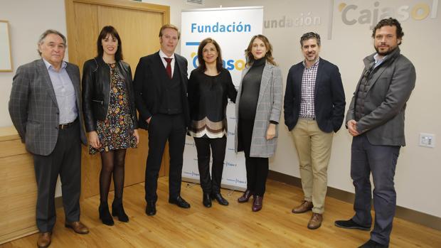 Antonio Piñeiro, Zoila Borrego, Salvador Toscano, Mercedes Camacho, Carmen Esquivias, Antonio García Solís, Mario Blanco