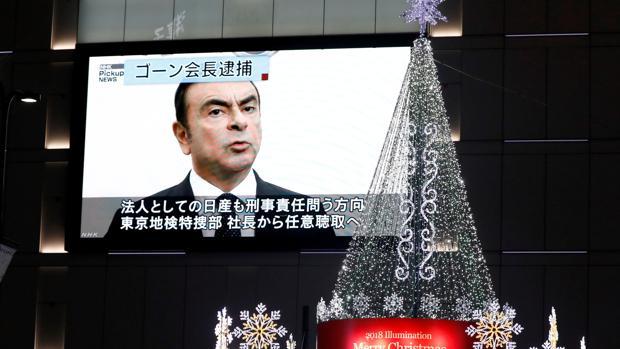 Carlos Ghosn fue detenido hace una semana por presuntas irregularidades fiscales