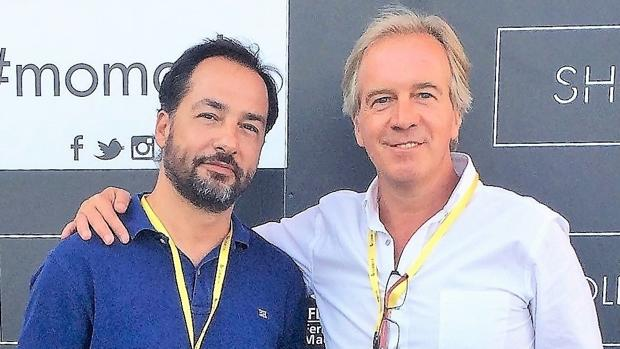 Jorge Molinero y Alejandro Castellano, socios fundadores de Shopinshop