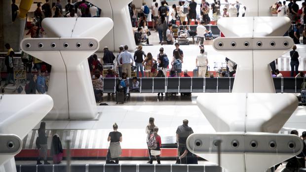 El Aeropuerto Adolfo Suárez Madrid-Barajas ha registrado el mayor número de pasajeros con casi 57,9 millones