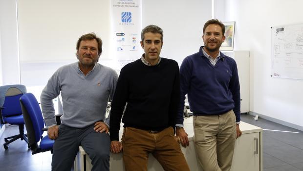 Los socios, Jesús García de Tejada Ybarra, Jose Antonio Carpio Villatoro y Eduardo Ybarra Puig