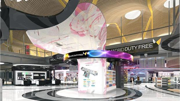 Tienda «duty free» del aeropuerto Adolfo Suárez Madrid-Barajas