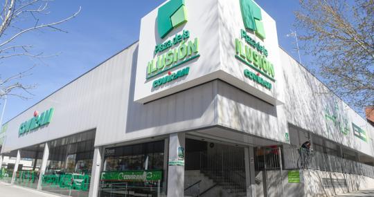 Una de las tiendas de la cadena granadina