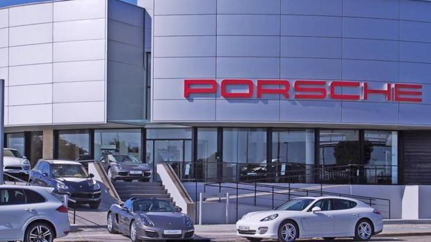 Concesionario Porsche del grupo Alba que acaba de comprar Tecsa