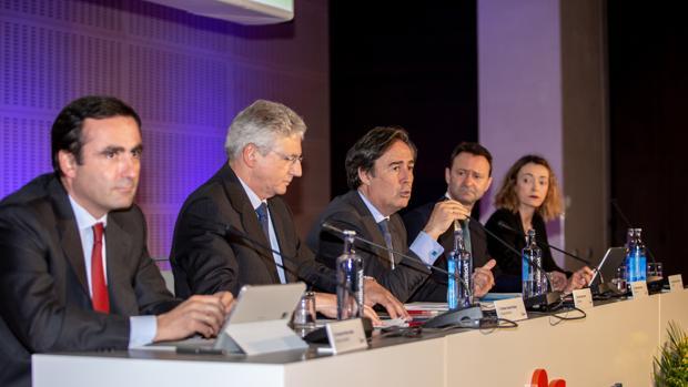 Junta general de accionistas de Insur, celebrado este viernes en Sevilla